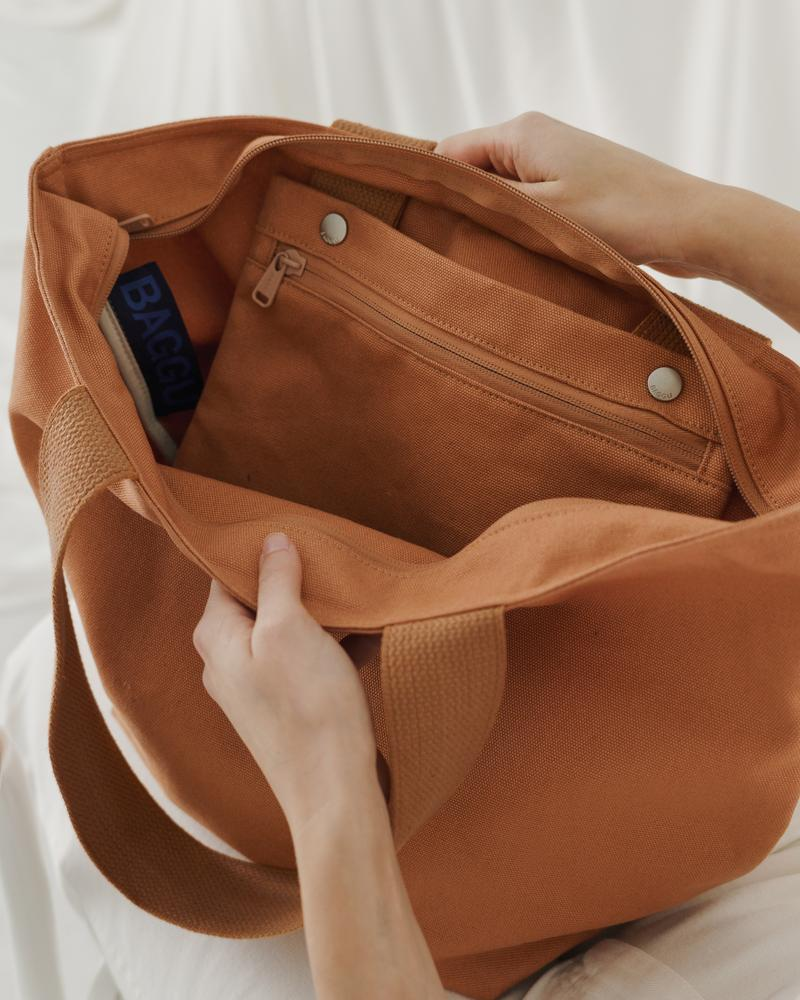 Canvas Zip Tote