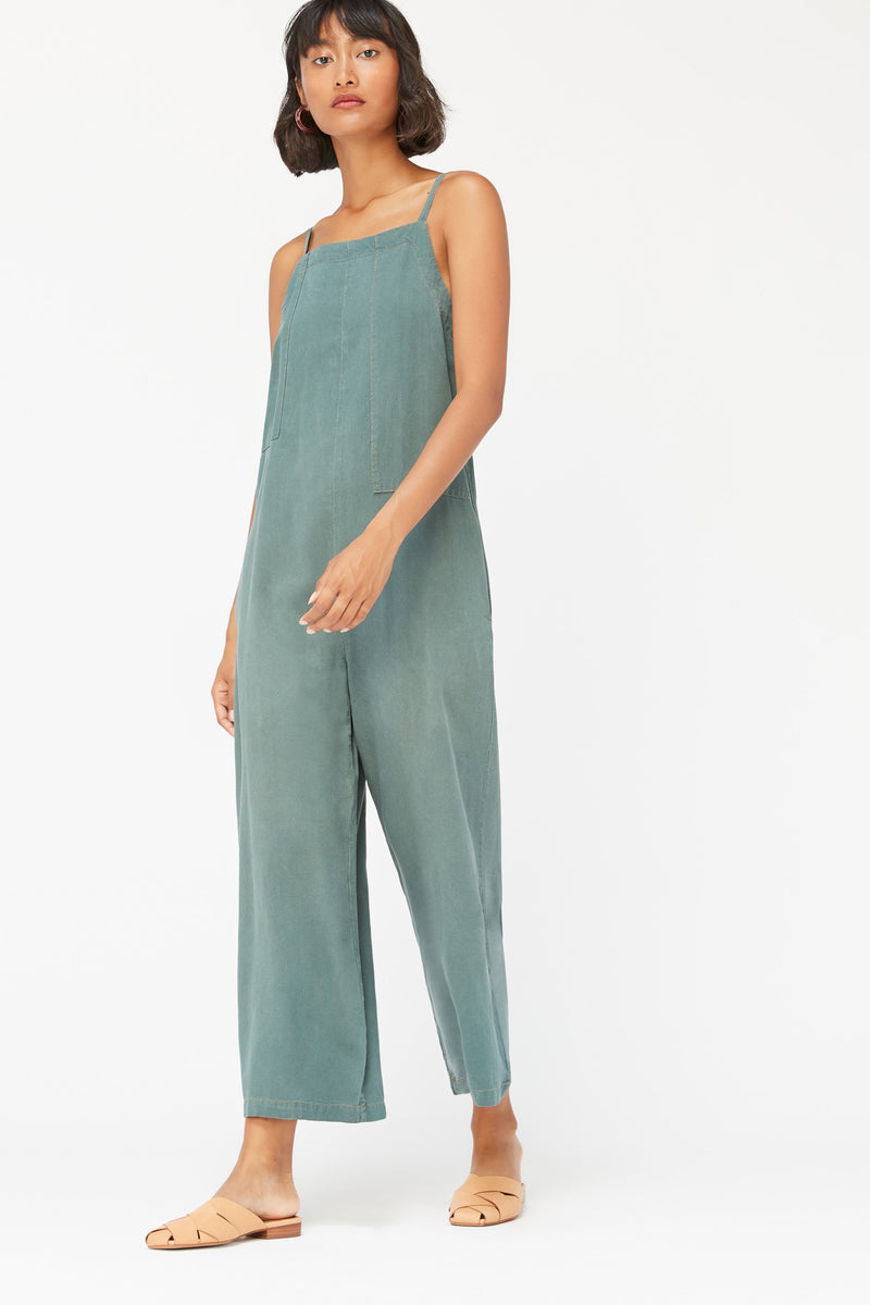 Silk Brooks Jumpsuit