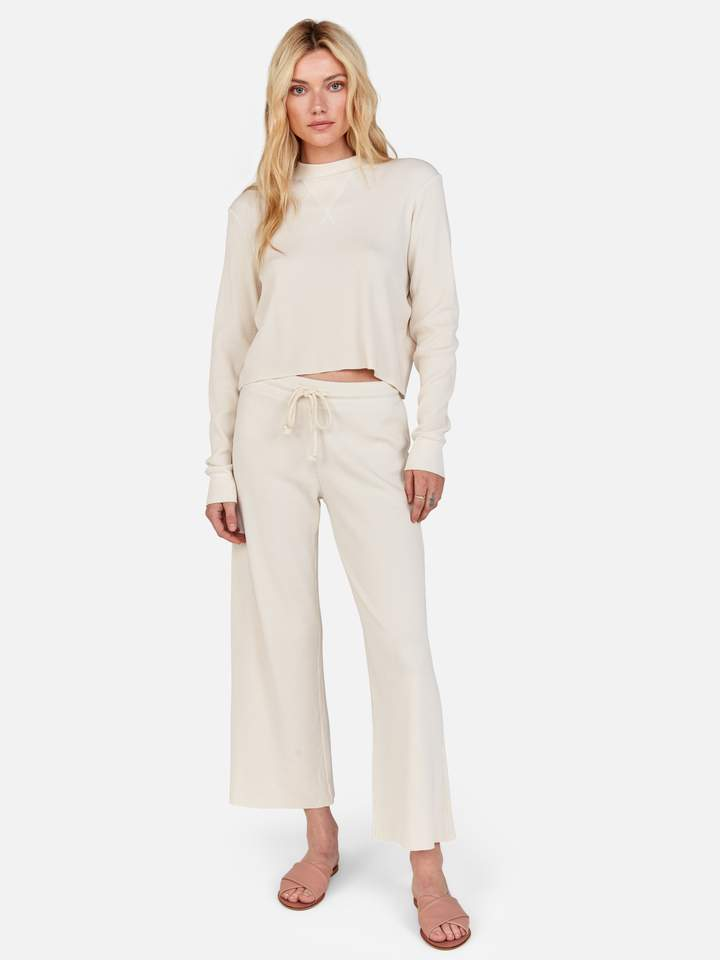 Ali Thermal Pant Aware Marketplace Organic thermal wide leg pant. ali thermal pant