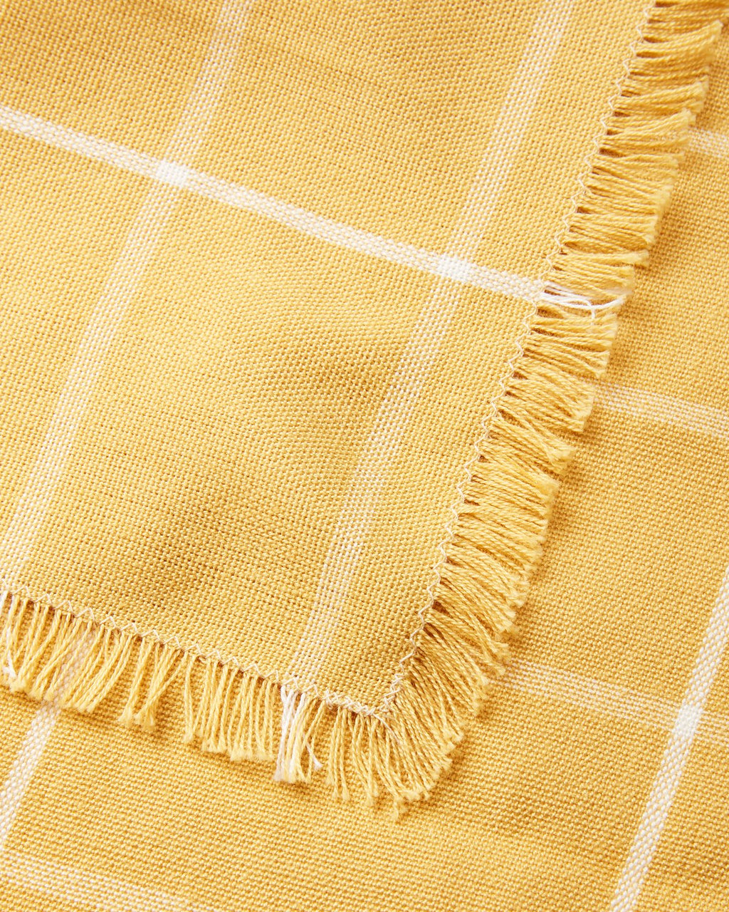 Gold Grid Napkin Set