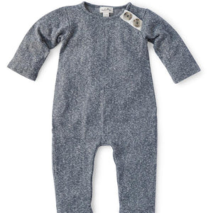 Stormy Gray Romper for Baby