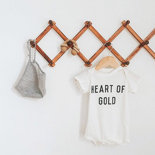 Heart of Gold Onesie