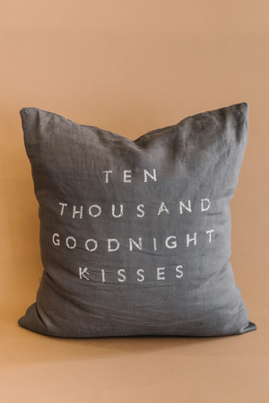 Ten Thousand Goodnight Kisses Pillow