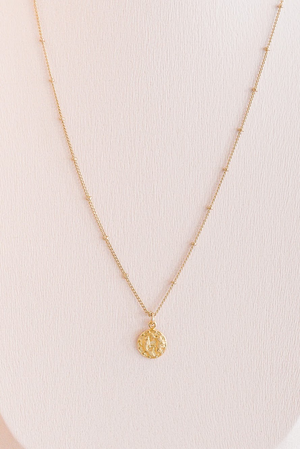 Tiny Astrology Necklace