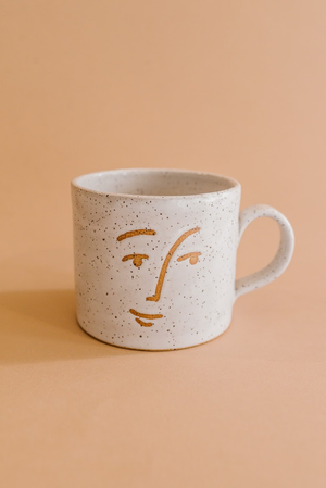 Speckled Face Mug