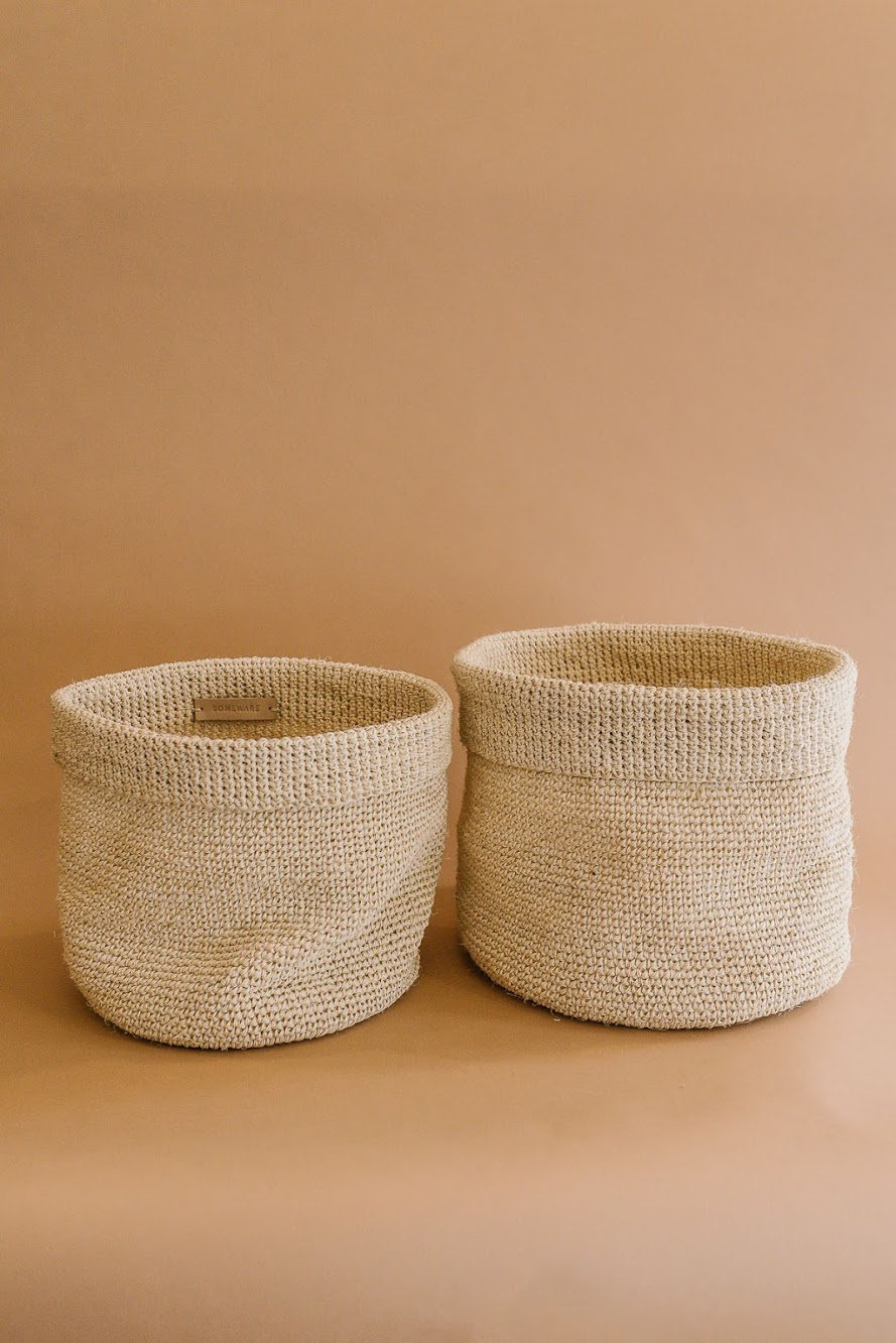 Stackable Woven Basket