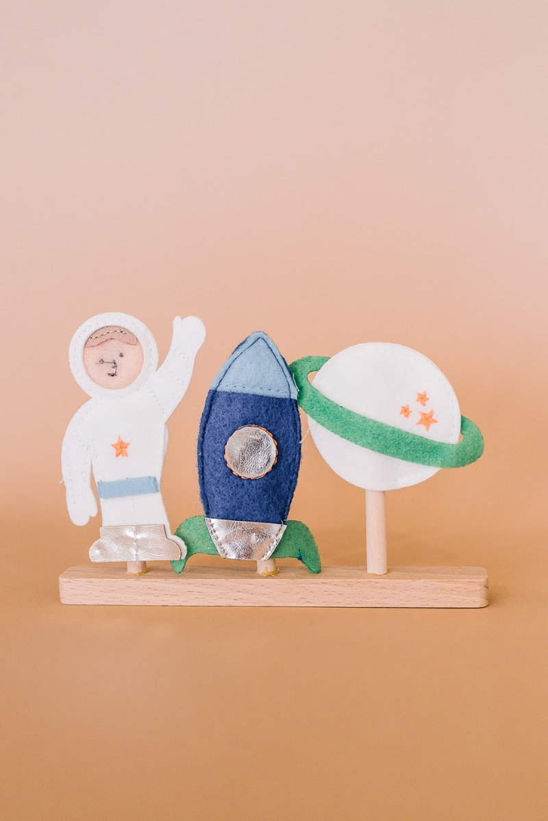 Space Finger Puppets