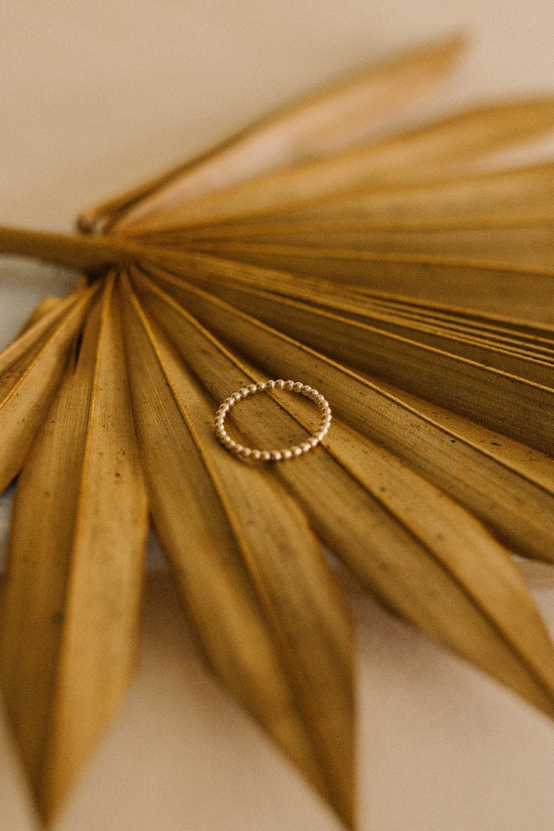 Droplet Stacking Ring