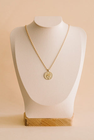 Anywhere, Anywhere Medallion Necklace