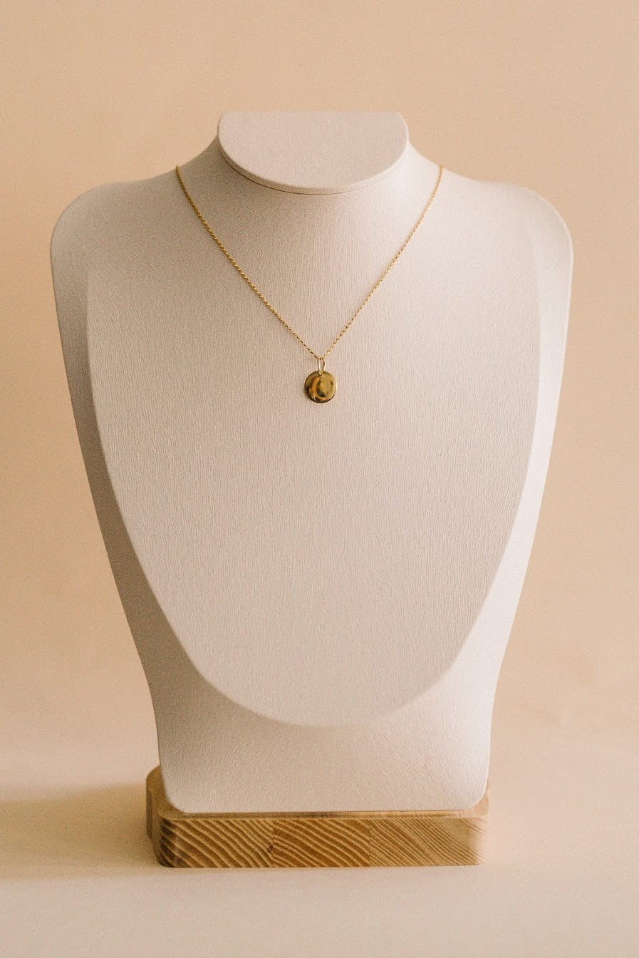 Coin Drop Necklace