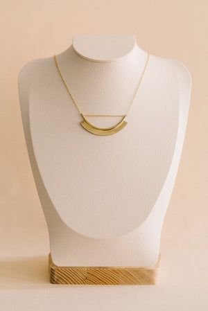 Paddle Threaded Necklace