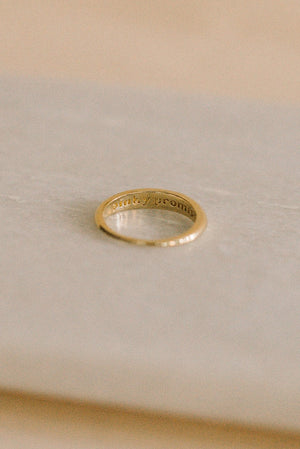 Pinky Promise Ring