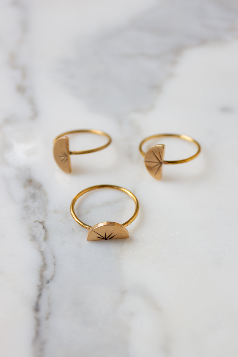 Dainty Burst Ring