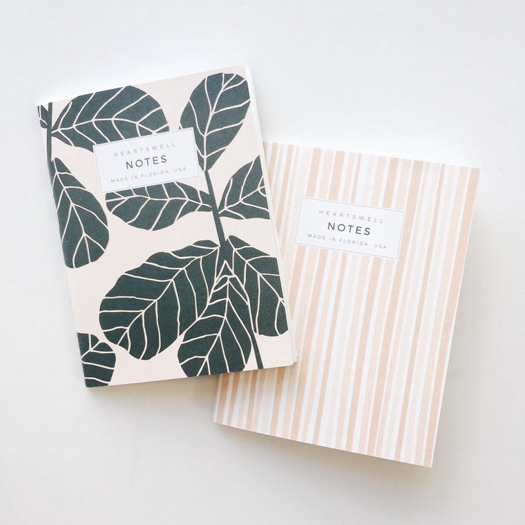 Fiddle Leaf Notebook Set