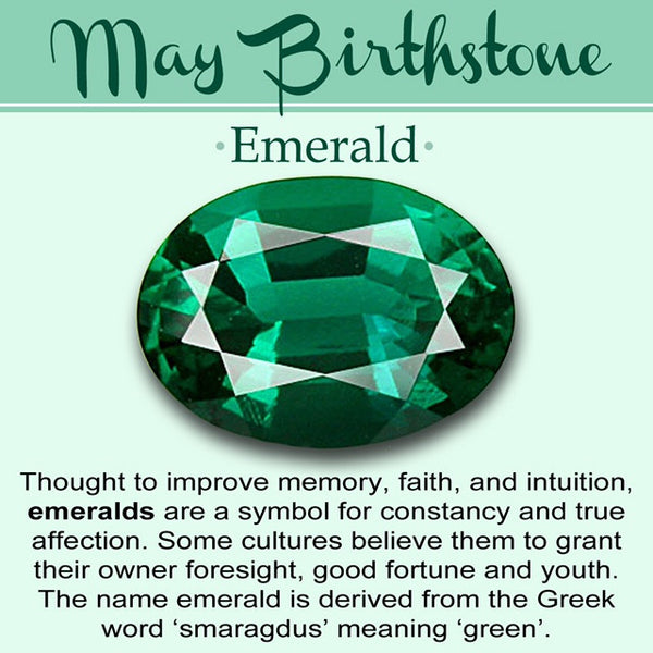 Birthstone of the Month for May- Emerald