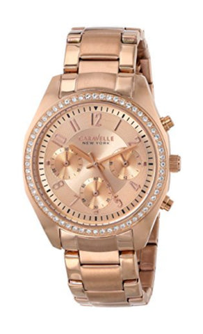 Caravelle NY Ladies Chronograph Watch