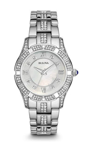 Bulova Mens Crystal Watch