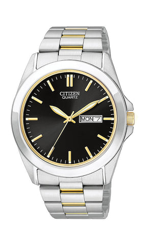 Mens Citizen Quartz Two Tone Watch
