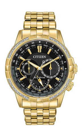 Mens Citizen EcoDrive Calendrier Watch