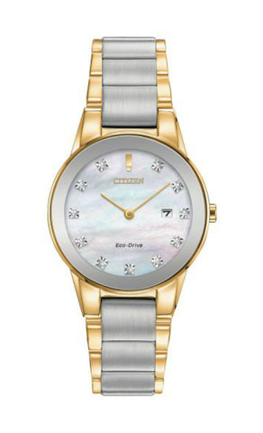 Citizen EcoDrive Axiom Two Tone Ladies Watch