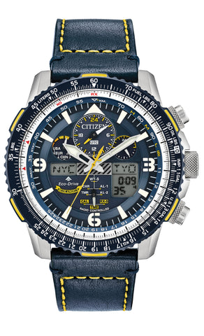 Mens Citizen EcoDrive Blue Angels Skyhawk AT Watch