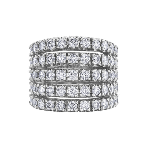 10k White Gold 2.50ctw Diamond Ring