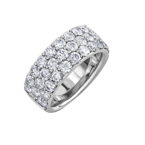 10k White Gold 3.00ctw Diamond Ring