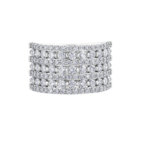 10k White Gold 2.00ctw Diamond Ring
