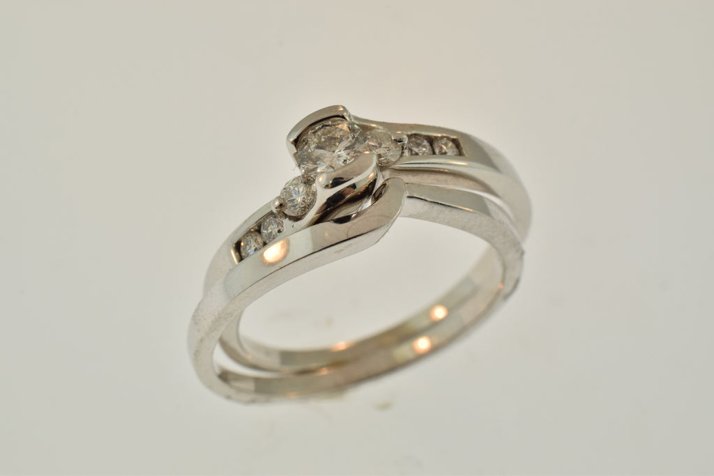 halo wedding allen ring how engagement flower james rings your the and match to matching
