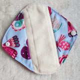 5pcs Reusable Pantyliner Set with 1 Wet Bag - The Endo Shop