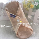 1 PC 18cm 100% Organic Cotton Pantyliner
