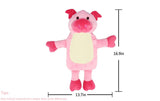 Hot Water Bottle with Detachable Soft Plush Animal Cover - The Endo Shop