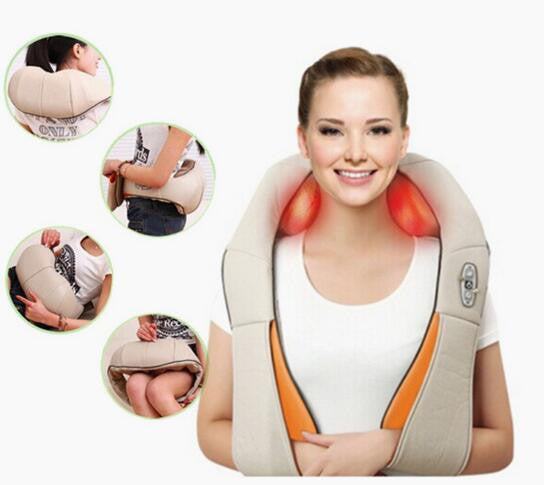 HOT SALE! U Shape Shiatsu Massager Car/Home