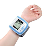 Digital LCD Wrist Cuff Blood Pressure Meter