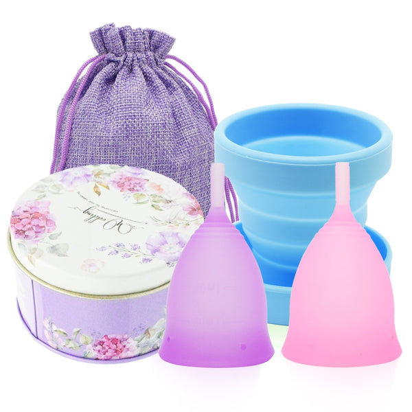 Menstrual Cup Set with Box