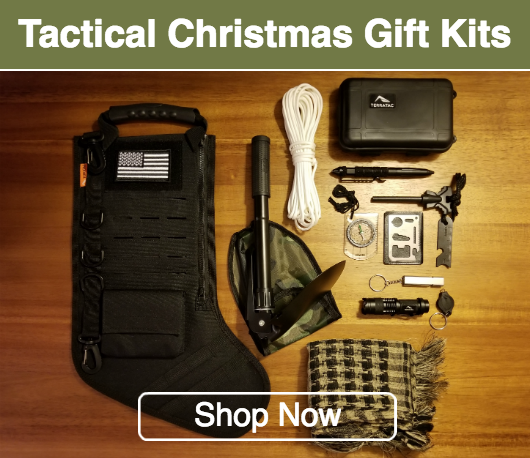 tactical christmas stocking gift kit stocking stuffers