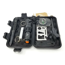 TERRATAC Emergency 8-in-1 Waterproof EDC Survival Kit