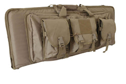 "42"" Deluxe Dual Rifle Range Bag with Backpack Straps"