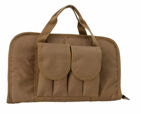 Double Pistol Range Bag with Mag Pouches