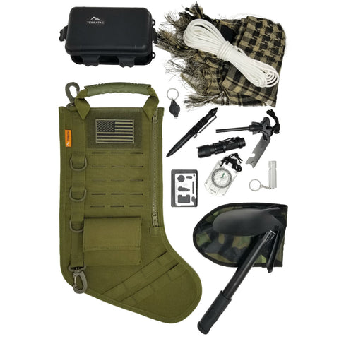TERRATAC Tactical Christmas Stocking Gift Kits