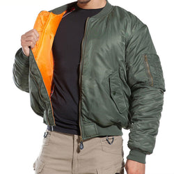 Classic MA-1 Insulated Bomber Jacket
