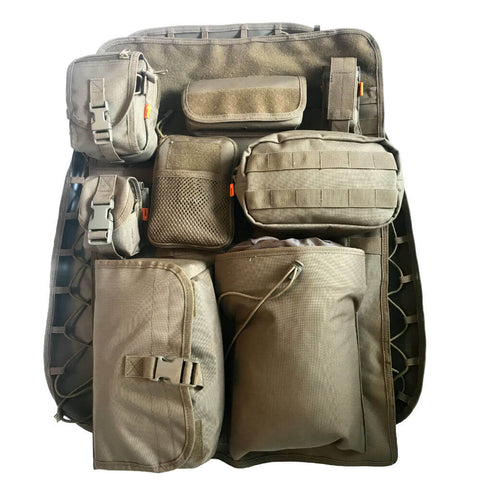 GruntCover - Tactical Seat Cover & Organizer