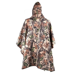 3 in 1 Camouflage Poncho Tent and Backpack Cover