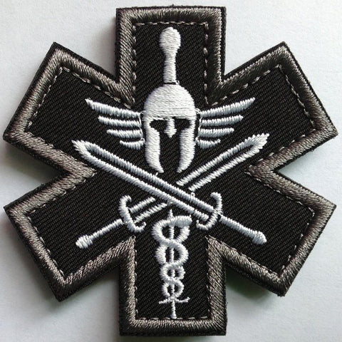 SPARTAN US ARMY MEDIC EMT EMS Military Morale Patch