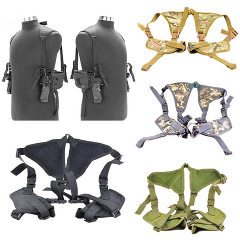 Double Draw Concealed Carry Shoulder Holster