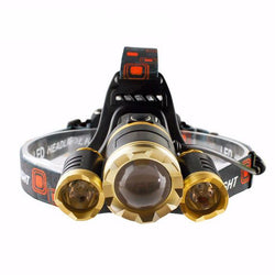 Ultra-Bright Waterproof Headlamp (Rechargeable)
