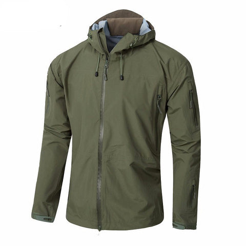 SPECTRE Tactical Hardshell Hooded Rain Jacket