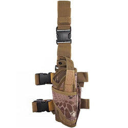 Universal QR Tactical Leg Holster (Brown Snake)