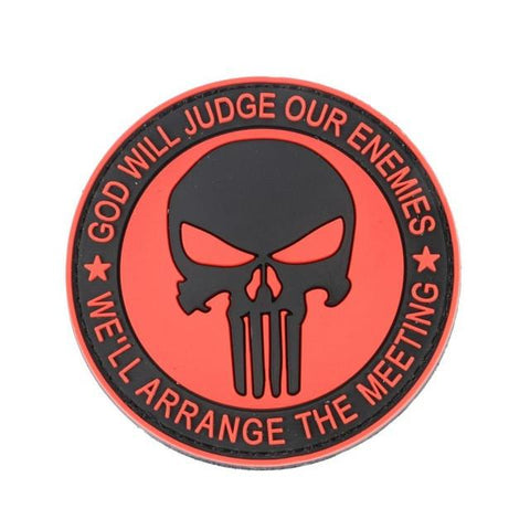 Military Morale Patch (Red Punisher)