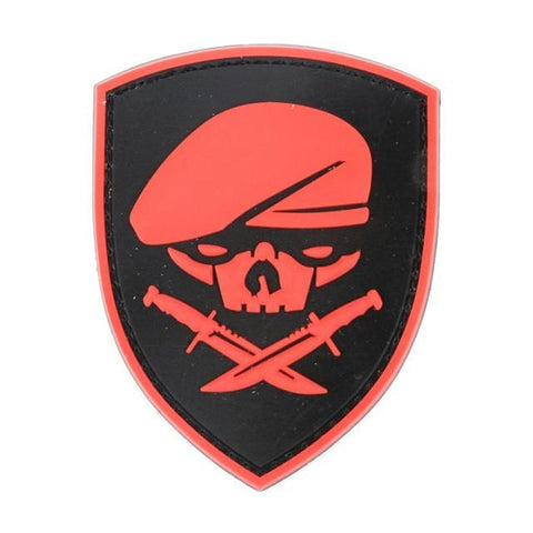 Military Morale Patch (Red Skull)